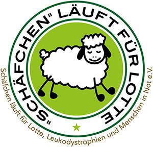 Schäfchen läuft für Lotte Logo